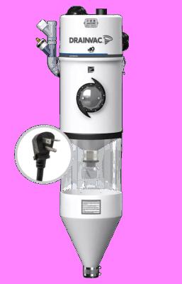 Automatik central vacuum – 2x355 AW