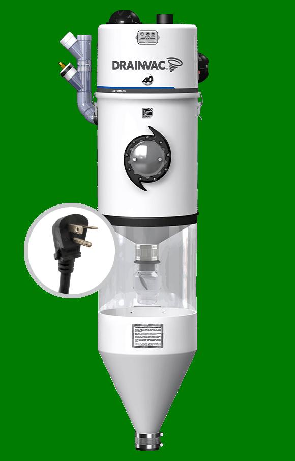 Automatik central vacuum – 2x355 AW | Automatik central vacuum – 2x355 AW