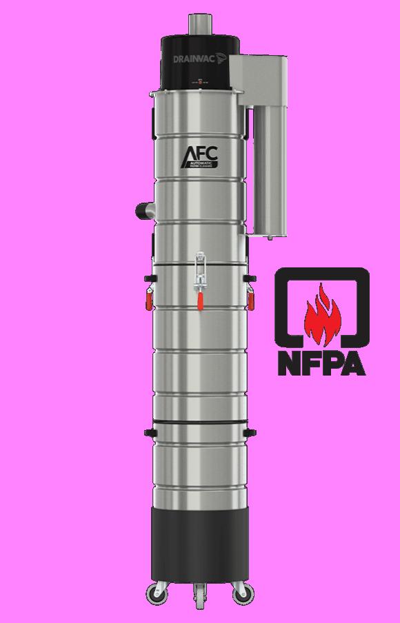 Separator for central vacuum | Separator for central vacuum