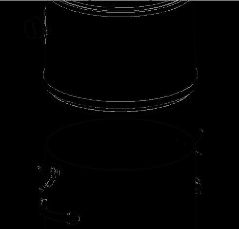 Central vacuum separator | Central vacuum separator