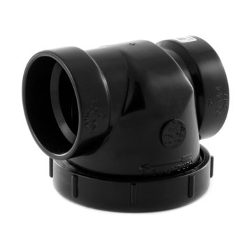 "ABS back water valve - 2"" (50 mm)"