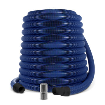 Central vacuum anti-static hose : 1 1/2'' (3.8 cm)
