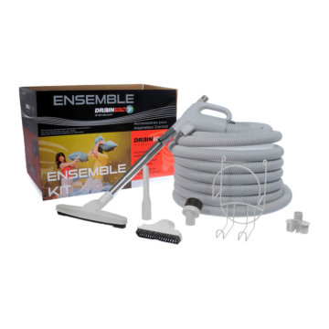 Central vacuum basic accessory kit