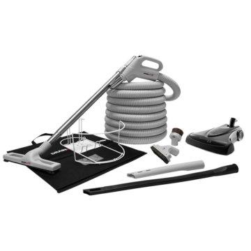 Conjunto de accesorios lujo con escoba turbo de alto rendimiento para aspiradora central
