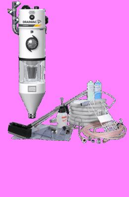 Aspirateur central commercial – Automatik 3,9 HP