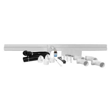 Vacpan installation kit : White