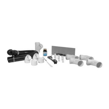 Vacpan installation kit : Silver