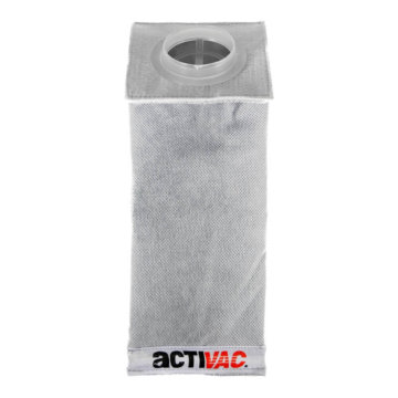 Central vacuum Activac exhaust filter