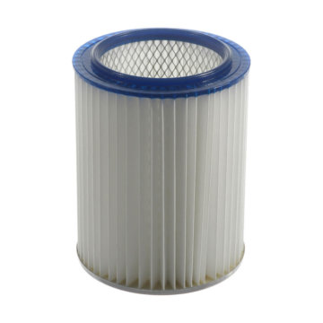 Central vacuum small cartridge filter