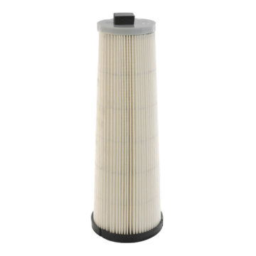 Central vacuum HEPA cartridge filter
