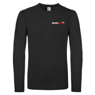 Men's Long Sleeve Black T-Shirt
