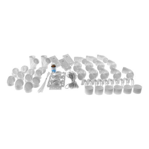 Central vacuum installation kit - 3 inlets and no piping | Central vacuum installation kit - 3 inlets and no piping