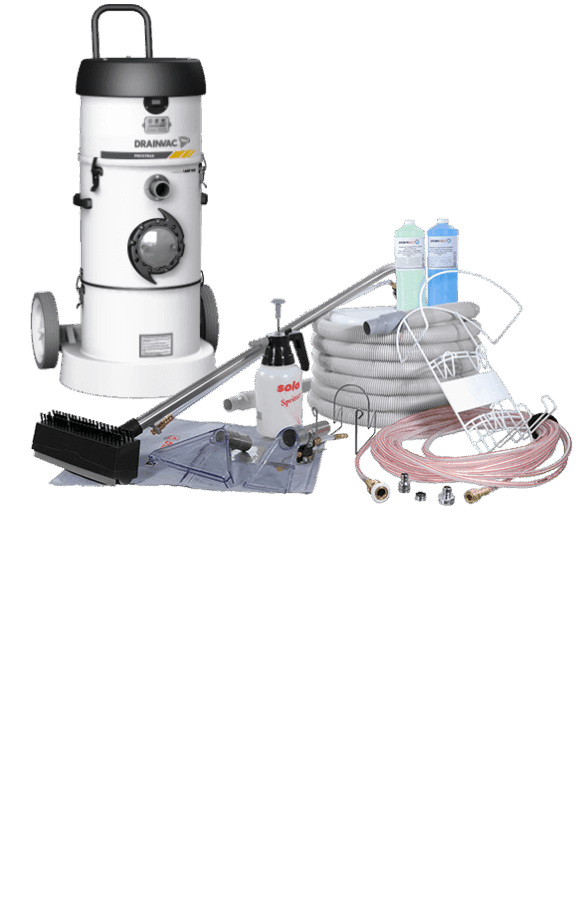 Portable Central Vacuum – ProXtrak 3.88 HP with cleaning kit | Portable Central Vacuum – ProXtrak 3.88 HP with cleaning kit