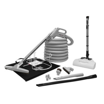 Trousse d'accessoires pour aspirateur central - Premium avec brosse électrique