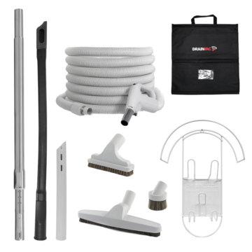 Central vacuum accessory kit - Premium